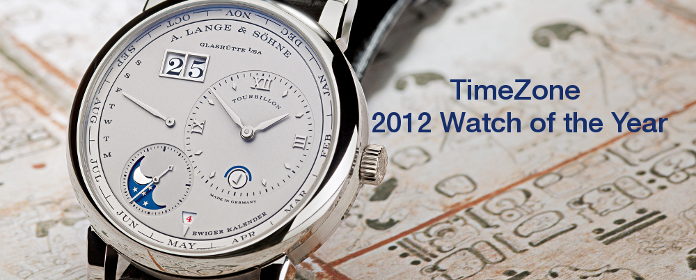 TimeZone Watch of the Year, Watch of the Year, WOTY, A. Lange & Söhne LANGE 1 Tourbillon Perpetual Calendar