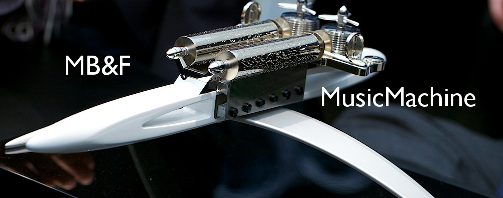 MB&F MusicMachine at Baselworld 2013