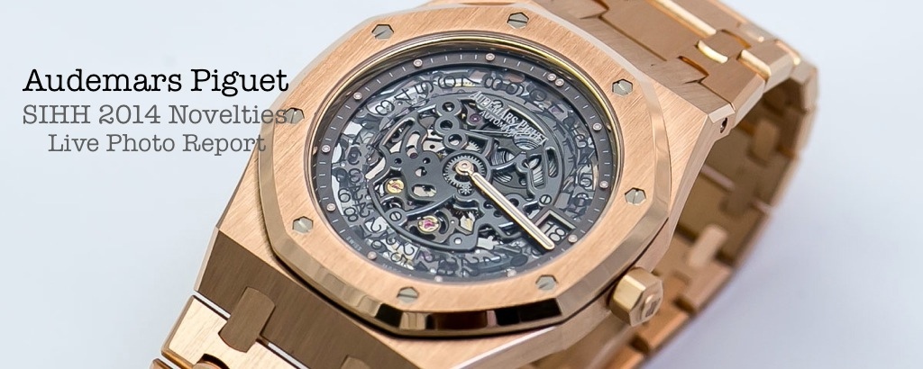 Audemars Piguet at SIHH 2014