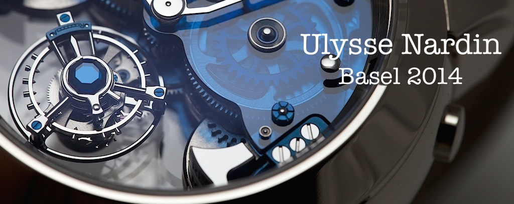 Ulysse Nardin at Baselworld 2014, Ulysse Nardin Imperial Blue