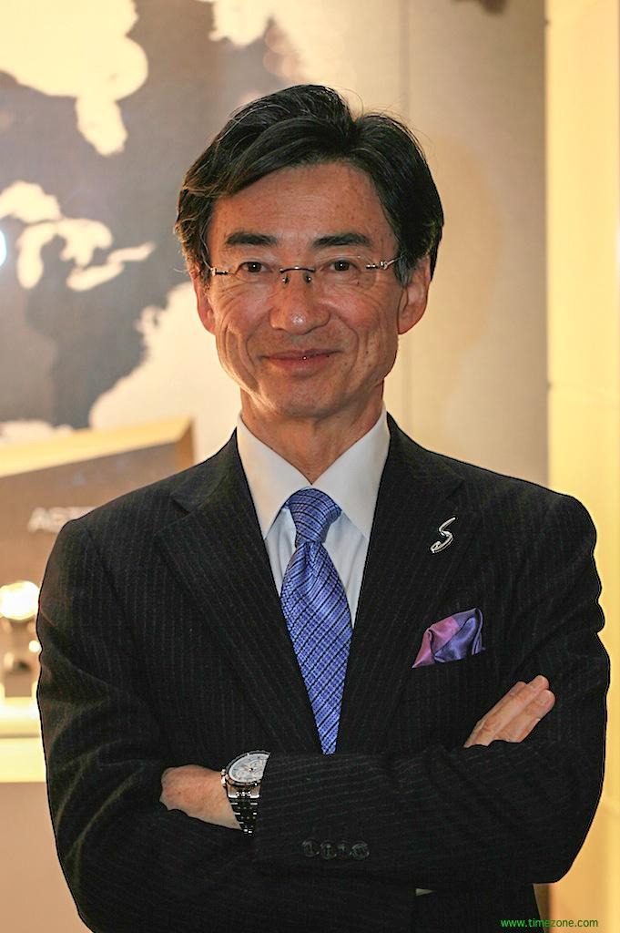 A Conversation with Shinji Hattori, President & CEO of Seiko