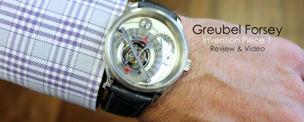 Greubel Forsey Invention Piece 1, DT30, Double Tourbillon 30°