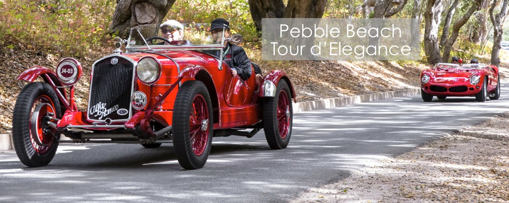 Pebble Beach Tour d'Elegance