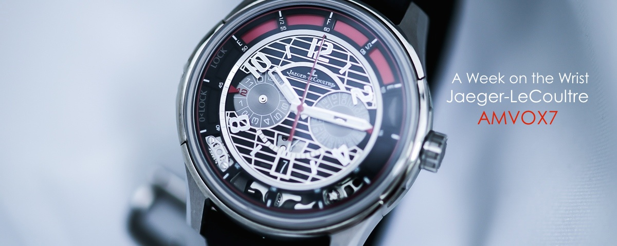 Jaeger-LeCoultre AMVOX7 Watch Review