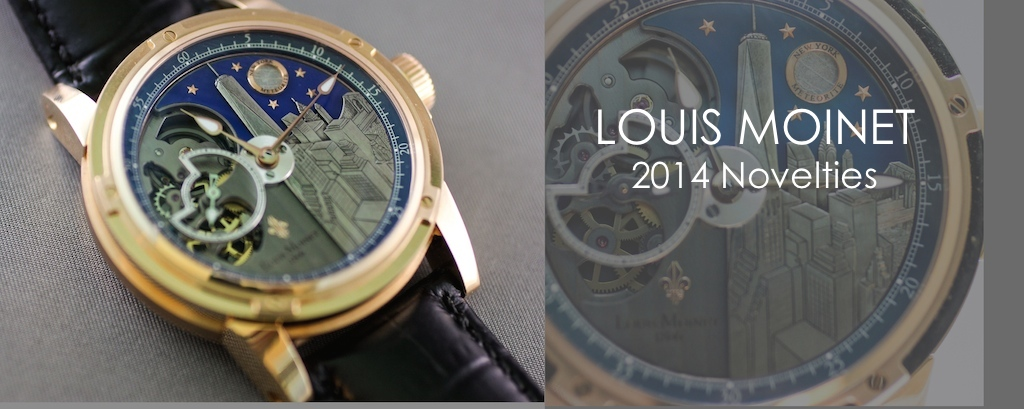 Louis Moinet 2014 Novelties Derrick Tourbillon