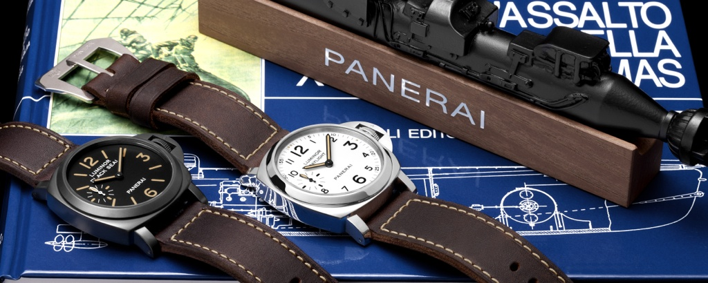 Panerai Luminor Black Seal & Luminor Daylight PAM785