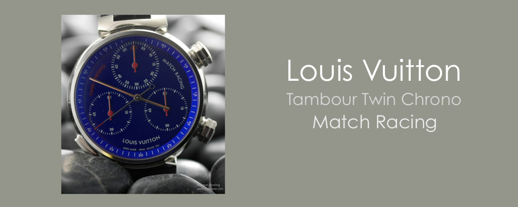 Louis Vuitton Tambour Twin Chronograph Match Racing by JAMES DOWLING