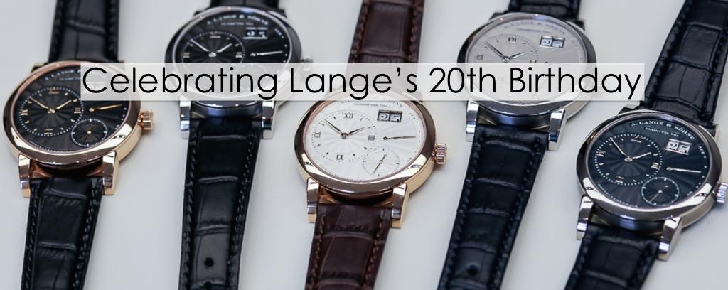 From Dresden: Celebrating Lange's 20th Birthday