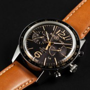 Review: Bell & Ross BR126 Sport Heritage GMT & Flyback by EDWARD HAHN