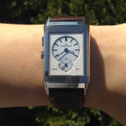 The two faces of the Jaeger-LeCoultre Reverso Bleu by PETER