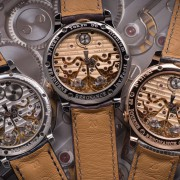 Comparison of three generations of F.P. Journe Resonance movements by DOO