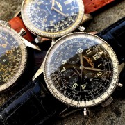 Patina, an art form only mastered by time – early Breitling Navitimers by FRED