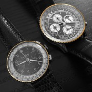 My two favorite Breitlings: Vintage Chronomat Ref. 769 & Navitimer QP