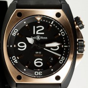 Watch Review: Bell&Ross Marine BR02-92 Rose Gold & Carbon by EDWARD HAHN