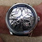 "Unboxing & first impressions: Arnold & Son TB88. ""The King of the Hill in my watch collection"""