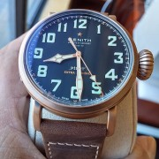 Some live pics of the Zenith Pilot Type 20 Bronze