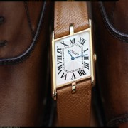 A few pics of the Cartier Tank Asymétrique by GEO CRAMER