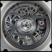 Superb macros of the Hublot King Power Ti HUB1240 UNICO movement