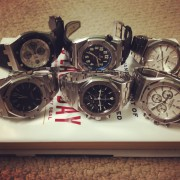 Half dozen of Audemars Piguet perfection