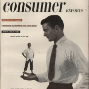"1949 Consumer Reports watch rating ""In estimated order of merit…"""