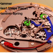 About the Hublot Unico's chronograph hammer by TODD HARRELL