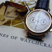 It's watchcraft, wicked watchcraft: Vacheron Constantin Les Historiques Chronograph