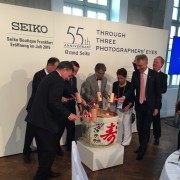 At the Celebration Dinner for the Seiko Boutique Frankfurt Opening by ALEX BROWNLEE-STOKES