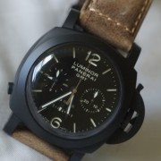 Learning how to take pics with a Panerai Luminor GMT PAM317