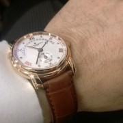 Vacheron Patrimony 31 Day Retrograde back from service & as good as new
