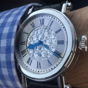 Here it is, my Peter Speake-Marin Piccadilly with hand-engraved dial