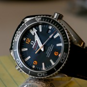 Beautiful pics of an Omega Seamaster Planet Ocean
