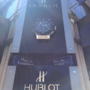 At the Hublot Boutique Genève by GUILLAUME