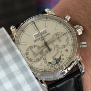 Comparing the Lange 1815 Rattrapante Perpetual and Patek 5204P by BOB L.
