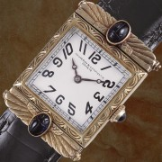Here are some vintage watches that I think definitely fit into the Art Deco camp