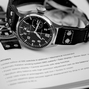 A quick Friday B&W photo study IWC Big Pilot 5002 w/IWC Catalog