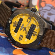 I now have a Breitling Aerospace Evo LE in cobra yellow & black steel case