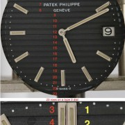 Patek Philippe Nautilus ref. 3700 – How many rows are there in a 3700 dial? (Part 11)
