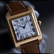 The Santos Dumont was the first watch Louis Cartier created, in 1904
