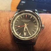 "Hamilton Jazzmaster GMT Automatic ""All Black"" review"