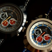 Darth Vader & Anakin: Omega Seamaster Hard Metal Chronographs with caliber 861