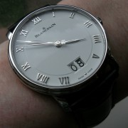 "After looking for a ""big date"", the Blancpain Villeret Grande Date caught my eye"