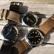 Some 47mm joy: Panerai 1950 PAM372, Radiomir California PAM424 & Marina Militare PAM422