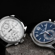Two Patek Philippe chronographs: 5960P and 5170G