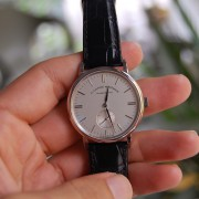 An owner's first impressions of the white gold A. Lange & Söhne Lange Saxonia