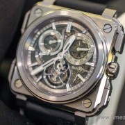 Hands-on with the Bell & Ross BR-X1 Chronograph Tourbillon Monopusher by JESSICA