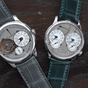 A little sun on a rainy day.  Return of two F.P. Journe from service: Tourbillon and Resonance