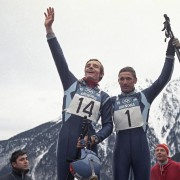 Mr Jean Claude Killy and his Breitling ref 765 CP