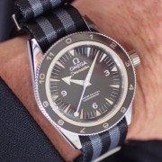 Hands-on with the Omega Seamaster 300 SPECTRE LE by JESSICA
