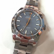 Is this a tropical Rolex Milgauss?