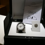 Just took delivery of my Omega Speedmaster Silver Snoopy and I had to share with everyone